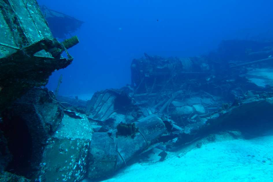 2019 - Wreck of the Captain Keith Tibbetts - Russian Frigate 356